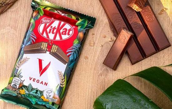 Nestlé запускатила продажі веганського KitKat в Європі