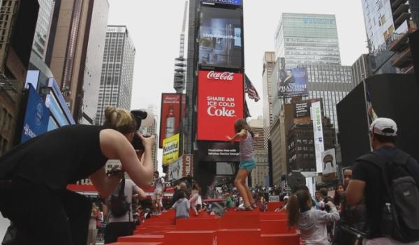 Рекламный щит Coca-Cola попал в Книгу рекордов Гиннесса