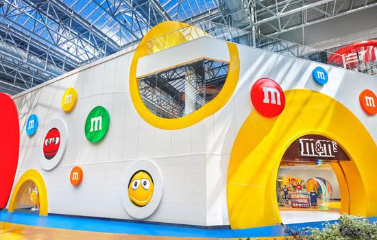 M&M's відкриває новий інтерактивний магазин в Mall of America