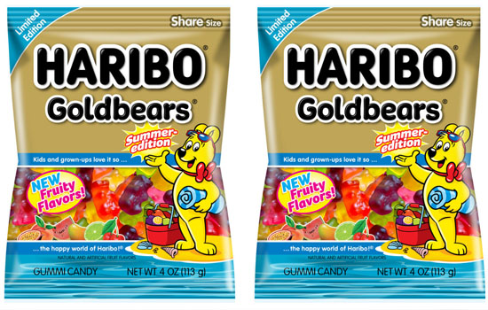 Haribo випустила лімітовану серію Goldbears