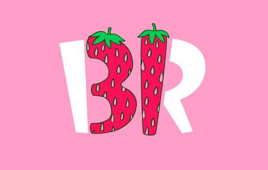 Бренд мороженого Baskin-Robbins обновил логотип