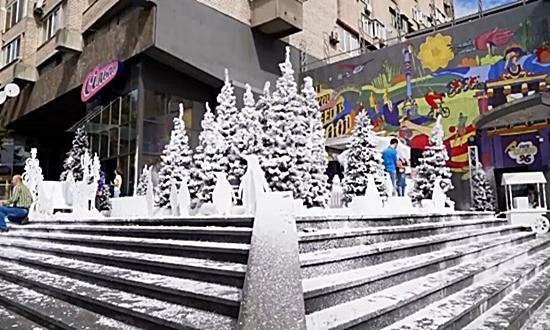 Зимняя «осенняя» сказка от сети «Сильпо»