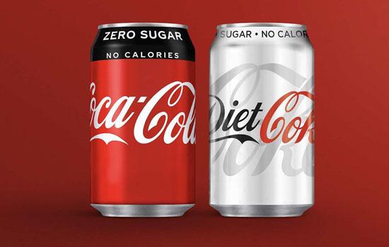 Coca-Cola змінить упаковку і смак напою Coca-Cola Zero Sugar