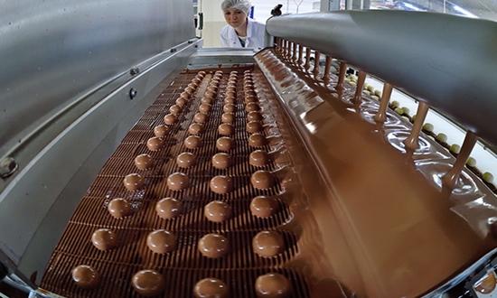 Шоколад из Украины в фаворите на европейском и американском рынках