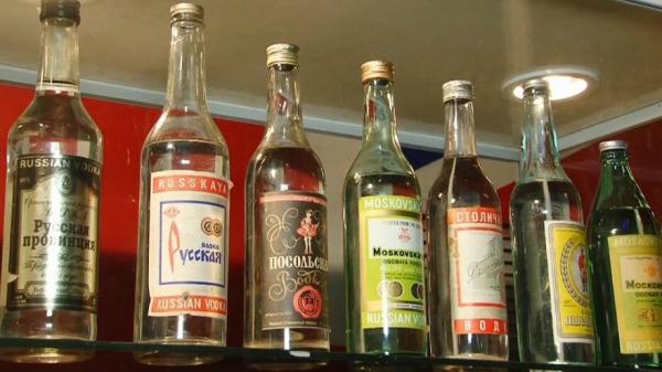 Производство водки в Украине сократилось