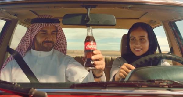 Coca-Cola приветствует женщин-водителей Саудовской Аравии в новом рекламном ролике