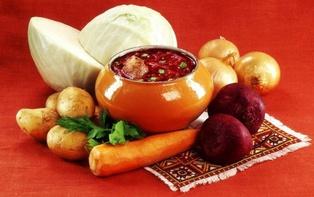 Борщевой набор овощей в Днепре стоит дороже, чем в Киеве