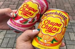 Chupa Chups теперь в формате газировки